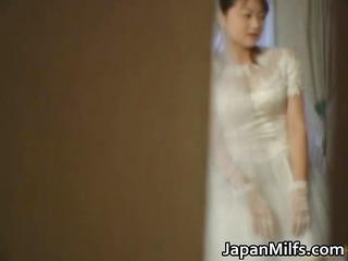 asian bride receives hardcore group fucking part4