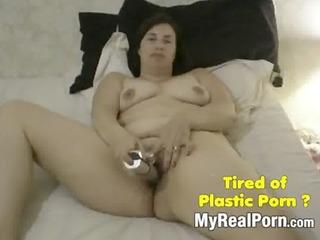 neighbour mom with a vibrator