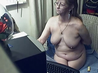 sweet granny with glasses 2