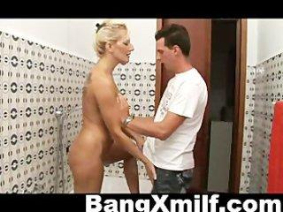 hawt blond milf anal