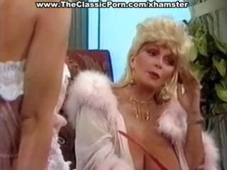 breasty mature classic blond star gives a hot