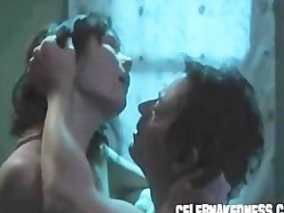 celeb natasha gregson wagner topless stripped