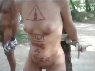 my horny slut used in nudist camping