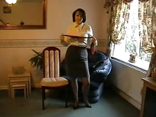teasing mother i in nylon nylons and heels