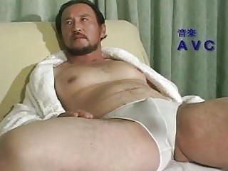 mature asian lad all alone at home