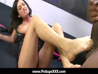 foot fetish - hawt babes fucking penis with their