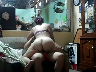 unshaved old milf gets seeded up by son-in-laws