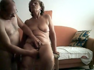sexually excited granny gets her ribald cleft
