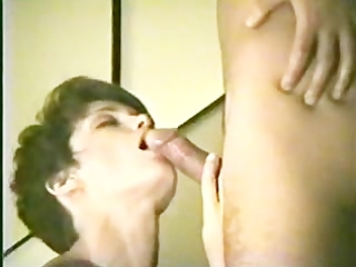 wife gives a meticulous blowjob