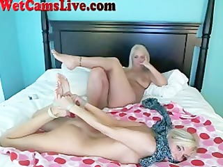 3 hot webcam girls tie each other up part 6