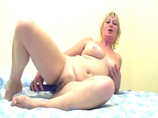 mature lady drilled by younger dude - intense