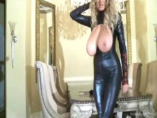 breasty kelly madison has latex lust