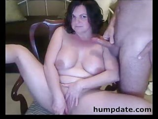 cookie toying and weenie sucking milf with big