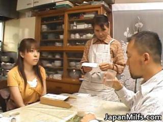 slutty japanese milfs engulfing and fucking part2