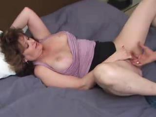 breasty mature dilettante with younger lad
