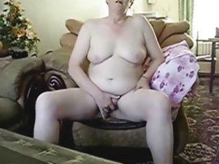 breasty grandma masturbating in front of hubby