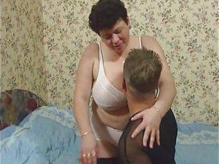 bulky older in nylons anal sex