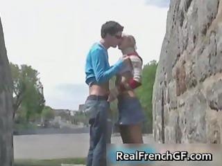 slutty french girlfriend road travel sex part3