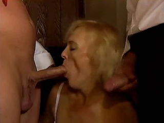 german old older double penetration