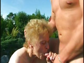 granny outside