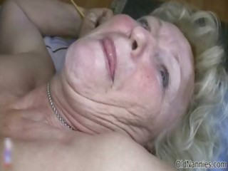 lascivious old granny with huge whoppers likes
