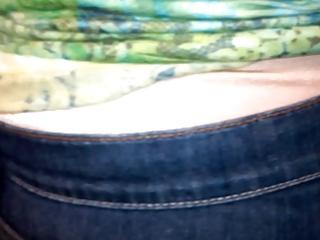older lady wear satin panties 11