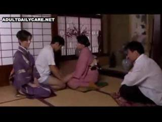 japanese wife eats his schlong and rides it is as