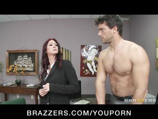 sexy redhead mother i tiffany mynx punished for
