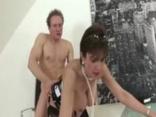 mature stocking fetish wench hard fucking