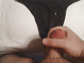 jerking into wifes pants #7