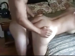 glamorous blond d like to fuck enjoying anal with