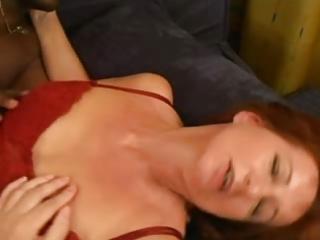 aged redhead bonia craves bbc