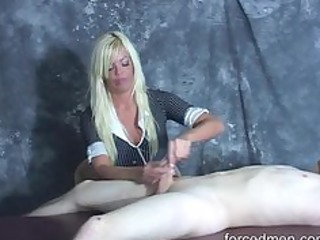 hard slaps on cock experienced during jerk off