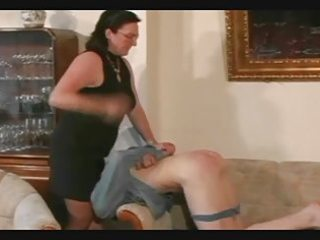granny belts and spanks the chap pt4