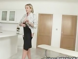 filthy masturbatrix lady sonia acquires off