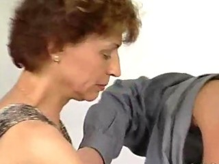 unyielding cock for aged german lady