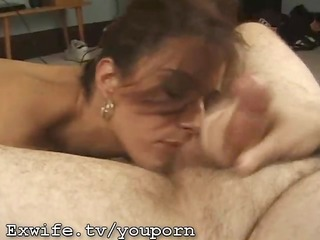 d like to fuck receives a massive cum facial
