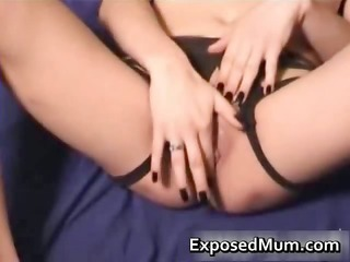 perverted snatch fucked by a dildo