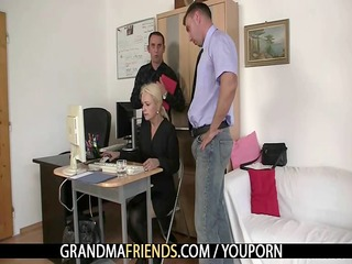 co-owners bang sexy mature lady