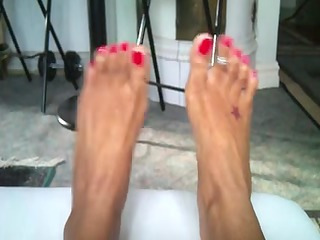 my wifes hot feets