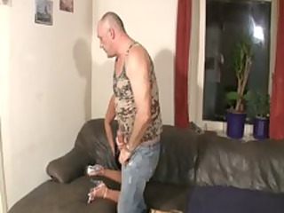 german floozy fucked by old fat lad