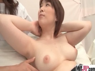 hawt hot horny japanese milf acquire banged on
