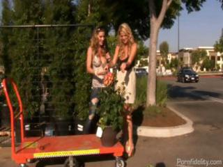 priceless breasty wife brings a bitch home for