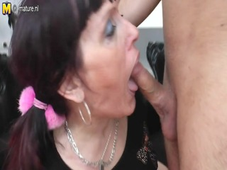 old doxy mother acquires fucked by her toyboy