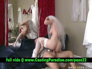 kayla paige breathtaking bride riding and