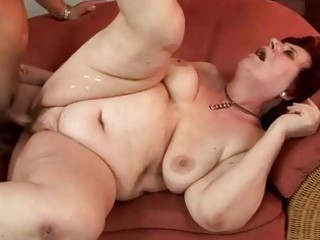 chubby grandma gets drilled pretty hard