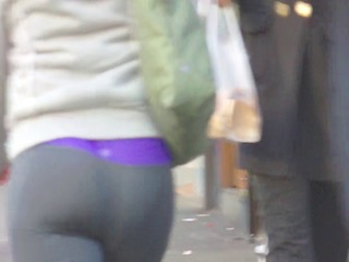 candid whooty wazoo in yoga pant of nyc
