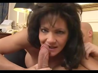 big boobed dark brown mature receives screwed