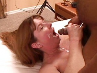 busty brunette mother i in high heels acquires