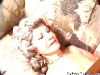 mature enjoying having interracial sex older